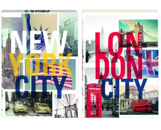Agenda scolaire journalier Cities - OBERTHUR - 12 x 18 cm