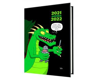 Agenda scolaire journalier 2019/2020 - 12 x 18 - Humour Illustré