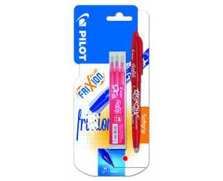 Stylo roller Frixion ball + recharge - PILOT - Rouge