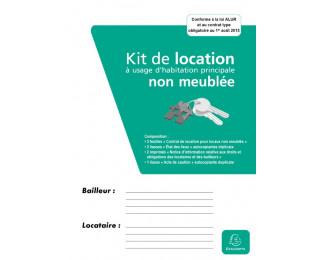 Contrat de location - 41E - EXACOMPTA - non meublée