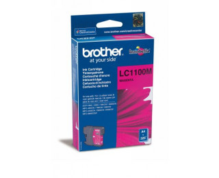 Cartouche d'encre BROTHER LC1100M - Magenta