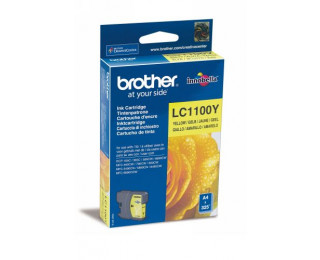 Cartouche d'encre BROTHER LC1100Y - Jaune