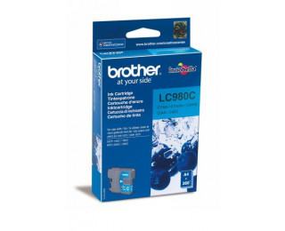 Cartouche d'encre BROTHER LC980C - Cyan