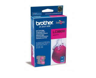 Cartouche d'encre BROTHER LC980M - Magenta
