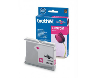 Cartouche d'encre BROTHER LC970M - Magenta