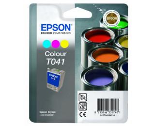 Cartouche d'encre EPSON T041 – 3 couleurs