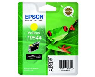 Cartouche EPSON T0544 grenouille - Jaune