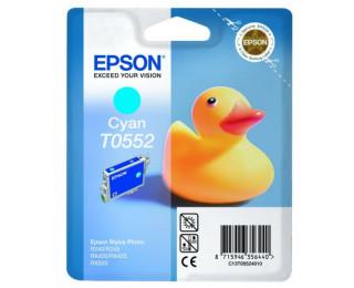 Cartouche d'encre EPSON T0552 canard - Cyan