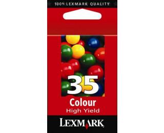 Cartouche d'encre LEXMARK 18C0035 - 3 couleurs 35