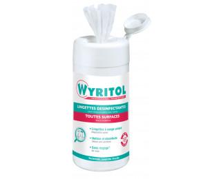 100 lingettes mains et surface - WYRITOL