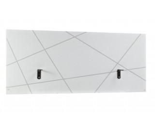 Ecran de séparation pour bureau de 160 cm de large SUNDAY, largeur : 160 cm - Finition blanche