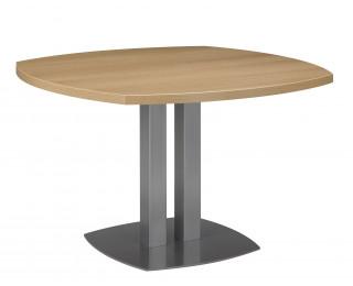 Table de réunion ronde L115 cm - SLIVER - Chêne