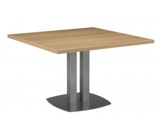 Table de réunion carrée L115 cm - SLIVER - Chêne