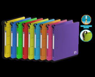 Classeur School Life Class'Up A4+ - OXFORD - Dos 30 mm - Assortiment de couleurs