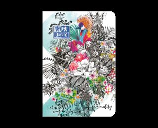 Agenda scolaire journalier 2021/2022 - OXFORD - 12 x 18 -  Edition limitée Jungle