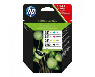 Pack de 4 cartouches d'encre HP 950 XL / HP 951 XL (C2P43AE) - HP - Noir et couleurs