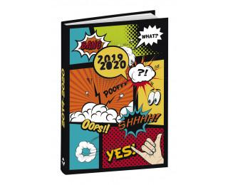 Agenda scolaire journalier 2019/2020 - TOP OFFICE -  12 x 17 - BD