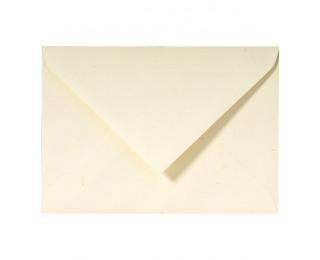20 Enveloppes G.LALO Paille gommées - 114 x 162 mm - Ivoire