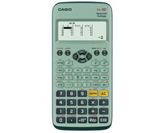 Calculatrice scientifique - CASIO - FX92 Collège 2D