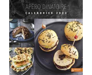 Calendrier mensuel 2021   BOUCHUT   30 x 30   12 recettes de cuisine
