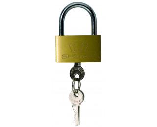 Cadenas à clé en laiton - 50 mm