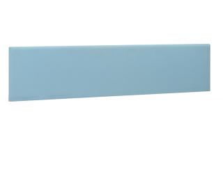 Ecran de séparation pour bureau XERUS -GAUTIER -  160 cm - Coloris bleu- Tissu
