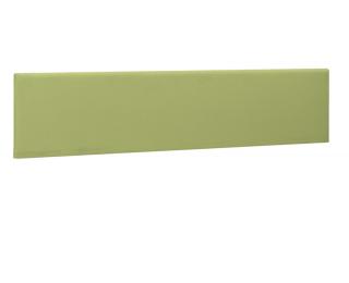 Ecran de séparation pour bureau XERUS - GAUTIER -  140 cm - Coloris kiwi - Tissu