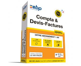 Logiciel Compta & Devis Facture Dynamic - EBP - VIP