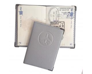 Etui blindé pour passeport - Gris