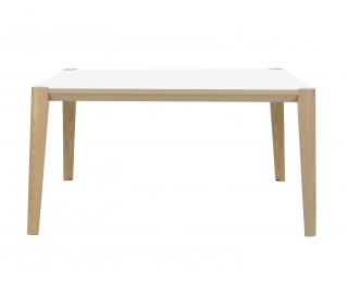 Table de réunion 160 x 160 cm - ABSOLU - Blanc