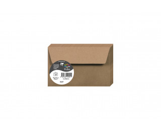 Lot de 20 enveloppes 90 x 140 - POLLEN - 130g - Kraft