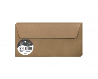 Lot de 20 enveloppes 110 x 220 - POLLEN - 130g - Kraft
