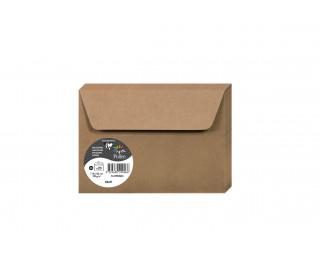 Lot de 20 enveloppes 114 x 162 - POLLEN - 130g - Kraft