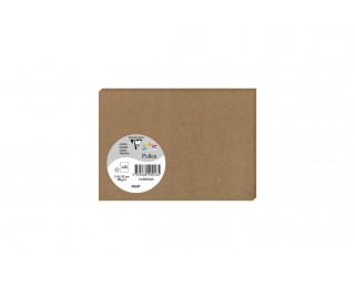 Lot de 25 cartes 110 x 155 - POLLEN - 200g - Kraft