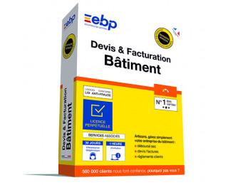 Logiciel Devis & Facturation bâtiment - EBP - 2019