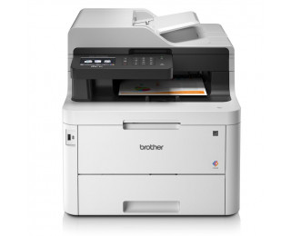 Imprimante multifonction L3770CDW - BROTHER - Laser 4 en 1 - Blanc