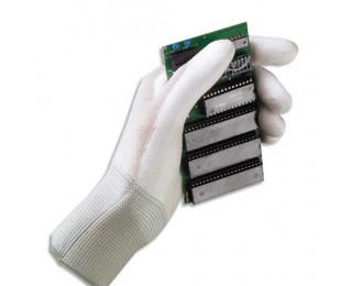 MAPA Lot de 10 paires de Gants Ultrane polyuréthane industrie propre femme Taille 7 L21-27 cm Blanc - ADVEO - 702261