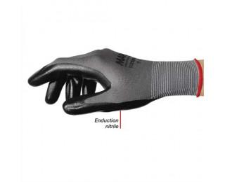 MAPA Colis de 10 paires de Gants Ultrane 553 polyamide sans conture enduction nitrile sur paume Taille 7 - ADVEO - 702796