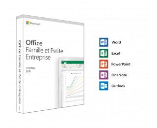 Logiciel Microsoft Office Famille et Petites entreprises - PC et MAC