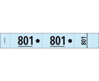 Carnet de 50 tickets vestiaires - 96602E - EXACOMPTA - Bleu