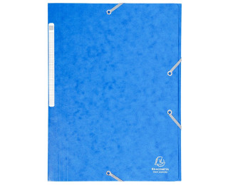Chemise 24 x 32 cm - EXACOMPTA - Bleu