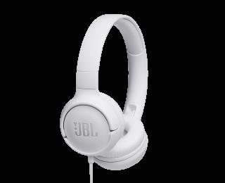 Casque supra-auriculaire T500 - JBL - Blanc