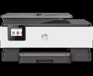 Imprimante OfficeJet Pro 8022 - HP -  Jet d'encre 4 en 1 - Blanc