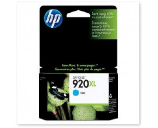 Cartouche d'encre HP 920XL (CD972A) - Cyan