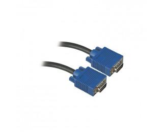 Câble pour écran VGA/SVGA mâle/mâle - APM - 5.00m
