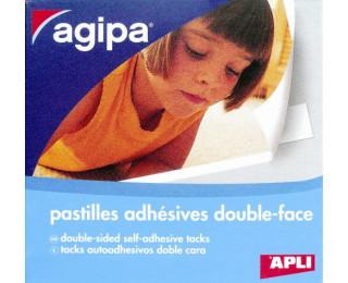250 Pastilles double face - AGIPA  - Blanc