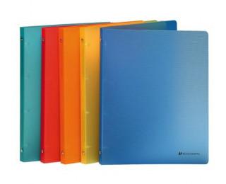 Classeur souple A4 - EXACOMPTA - Dos 20 mm - Coloris assortis