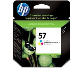 Cartouche d'encre HP 57 (C6657A) – Couleurs