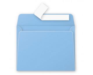 Lot de 20 enveloppes 90 x 140 - POLLEN - 120g - Bleu lavande