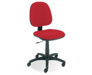 Chaise de bureau dactylo - Saturne - Rouge